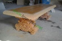 Urban furniture and stone board production