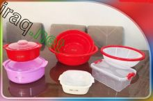 Plastic containers for home and kitchen